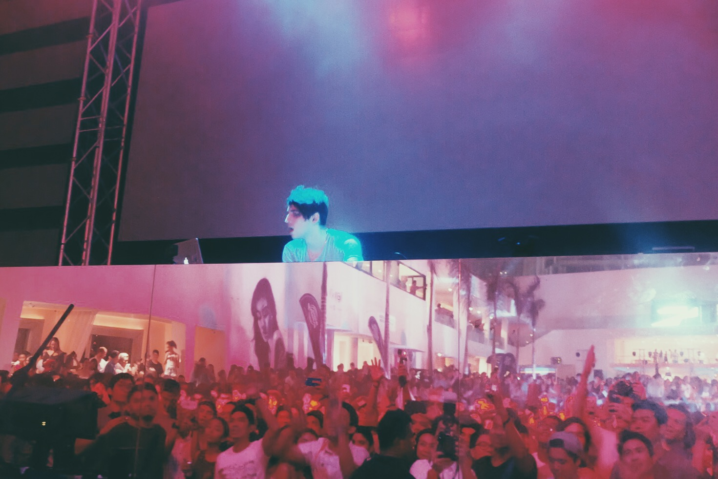 Porter Robinson in The Palace Pool Club