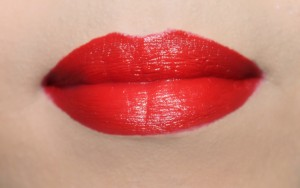 Laura Mercier in Vermillion Red