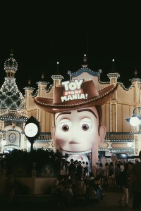 Toy Story mania which had the most number of people!