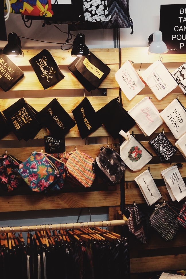 Catchy pouches and bags from @Earthbagsph!